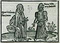 Figura Indianorum sacerdotum Forma indianorum seculorum - Breydenbach Bernhard Von - 1502.jpg