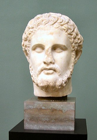 Philip II of Macedon - Bust of Philip II of Macedon from the Hellenistic period; Ny Carlsberg Glyptotek