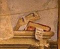 Filippino lippi, tabernacolo del mercatale, 1498, da piazza mercatale a prato 09 libri.jpg