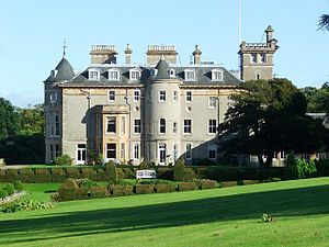 Clan MacMillan - Finlaystone House, the current seat of the chief of Clan MacMillan
