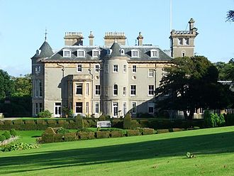 Kilmacolm - Finlaystone House, seat of the Earls of Glencairn