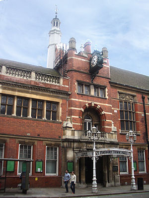 Metropolitan Borough of Finsbury - Finsbury Town Hall