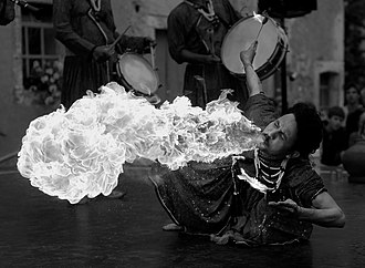 Lightness - Image: Fire breather CIELAB L*