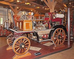Magirus - Image: Fire engine Magirus 1926