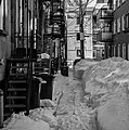 Fire escapes in Canada in Quebec city, Canada.jpg