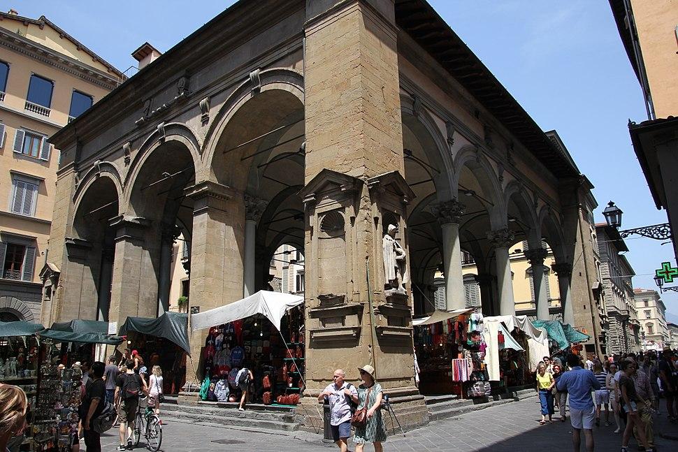 Firenze, loggia del Mercato Nuovo (03)