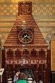 Fireplace & clock, Waterhouse cafe.jpg