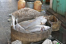 Fish market within the New Market, Kolkata 04.jpg