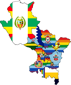 Flag map of provinces of Cusco.png