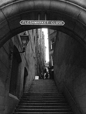 Cockburn Street, Edinburgh - Fleshmarket Close