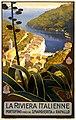 Flickr - …trialsanderrors - La Riviera italienne, travel poster for ENIT, ca. 1920.jpg