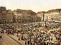 Flickr - …trialsanderrors - The Market, Altstadt, Dresden, Saxony, Germany, ca. 1895.jpg
