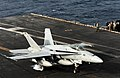 Flickr - Official U.S. Navy Imagery - An F-A-18 lands aboard USS Abraham Lincoln..jpg