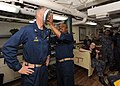 Flickr - Official U.S. Navy Imagery - Capt. Logan Jones takes a pie to the face from Chief Fire Controlman Gregory Maxwell..jpg