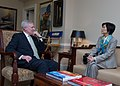 Flickr - Official U.S. Navy Imagery - The SECNAV meets with Singapore Ambassador to the United States Chan Heng Chee at the Pentagon..jpg