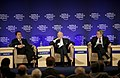 Flickr - World Economic Forum - Babacan, Halberstadt, Lemierre - World Economic Forum Turkey 2008.jpg