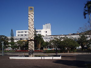 Federal University of Santa Catarina - View over the central square of the main campus