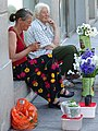 Flower-Sellers in Street - Vilnius - Lithuania (27777368022) (2).jpg
