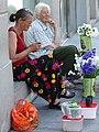 Flower-Sellers in Street - Vilnius - Lithuania (27777368022) (2).jpg