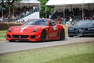 Ferrari 599 - Ferrari 599XX Evoluzione