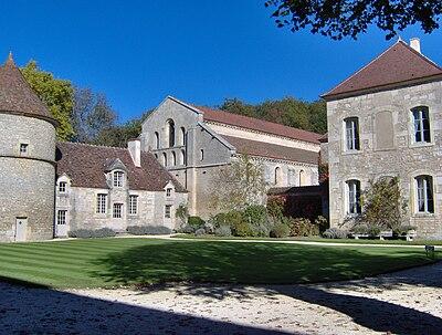 Fontenay Abbey, Marmagne