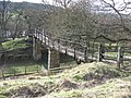 Footbridge by Riding Wood - geograph.org.uk - 712808.jpg