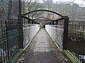 Footbridge over the River Calder at Fairlea Mill, Luddenden Foot - geograph.org.uk - 1169990.jpg