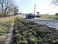 Footpath along the A638 - geograph.org.uk - 1749010.jpg