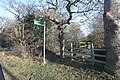 Footpath and Bridleway, Moor Lane, Cranham, Essex - geograph.org.uk - 1131279.jpg