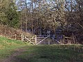 Footpath beside Fonthill Lake - geograph.org.uk - 320617.jpg