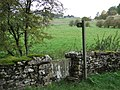 Footpath with lovely cotswold stone stile - geograph.org.uk - 1548522.jpg