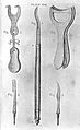 Forceps used for the trichiasis or inversion of the eyelids. Wellcome L0002444.jpg
