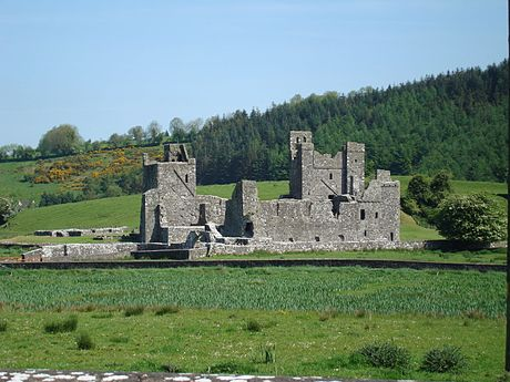 Fore Abbey was plundered in 1430 for claiming ownership of parishes in East Brefnian territory ForeAbbey1.JPG