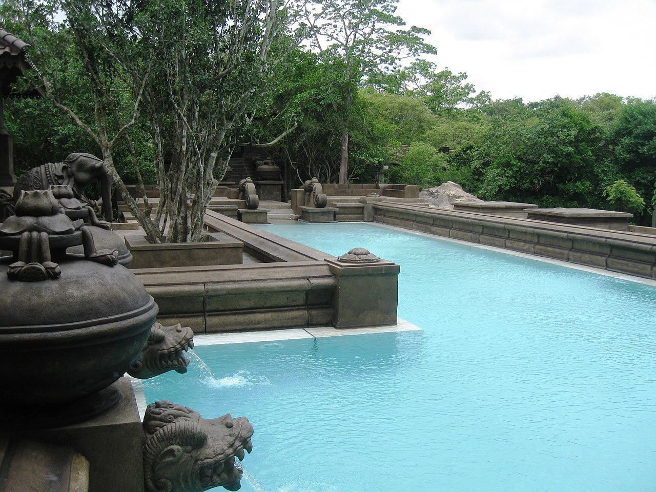File forest rock garden hotel anuradhapura sri - Bungalows with swimming pool in sri lanka ...