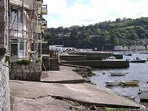 Francis Charles Morgan-Giles - Walls and jetty of the Morgan-Giles boatyard