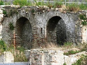 Ruins of a roman forum