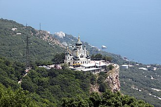 Yalta - Foros Church is a popular wedding location