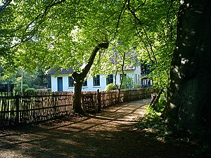 Aarhus Forestry Botanical Garden - Aarhus Forestry Botanical garden. The Foresters Lodge