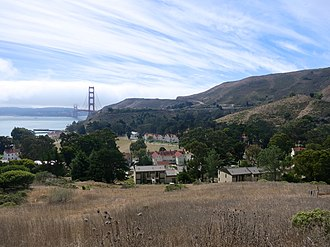 Forts Baker, Barry, and Cronkhite - Image: Fort Baker Sausalito Florin WLM 01