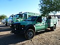 FortMcDowell, AZ, Sunflower Fire, USFS Mt. Taylor Hotshot Crew Buggies and Superintendent's Support Truck , 2012 - panoramio.jpg