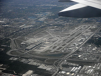 Fort Lauderdale–Hollywood International Airport - Image: Fort Lauderdale, Florida FLL from airplane