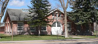 United States Army Remount Service - Veterinary hospital at Fort Robinson, built 1909