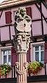 Fountain at Place de la Republique in Ribeauville 01.jpg