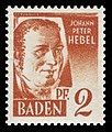 Fr. Zone Baden 1948 14 Johann Peter Hebel.jpg