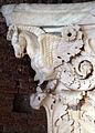 Frammento di capitello con cavalli alati, dall'interno della cella del tempio di marte ultore nel foro di augusto, 2 ac ca. 05.JPG