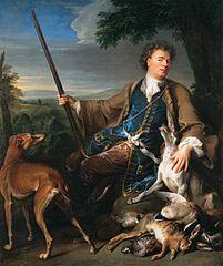 Portrait de l'artiste en chasseur