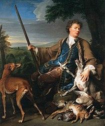 Alexandre-François Desportes: Self-portrait in Hunting Dress