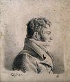 "François Joseph Victor Broussais. Lithograph by ""C. L. P."", Wellcome V0000794.jpg"