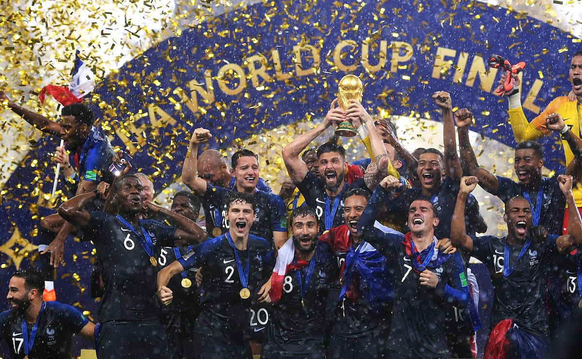 Finale de la coupe du monde de football de 2018 wikip dia - Coupe du monde 2018 football ...