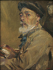 Francesc Gimeno - Self-portrait with Cap - Google Art Project.jpg